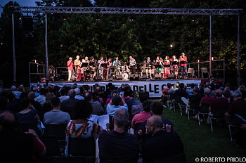 Artchipel Orchestra with Mike and Kate Westbrook and Pete Whyman photo Roberto Priolo