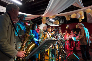 Mike Westbrook Big Band - Rossini Re-loaded - - Photo: Martin Smith