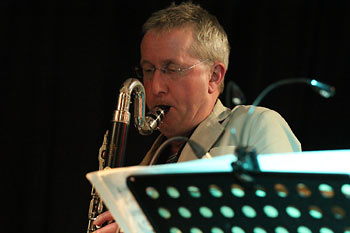 Ian Wellens - Mike Westbrook Big Band - Rossini Re-loaded - - Photo: Frank Eichler