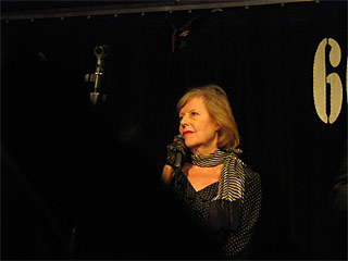 Kate Westbrook at the 606 Club